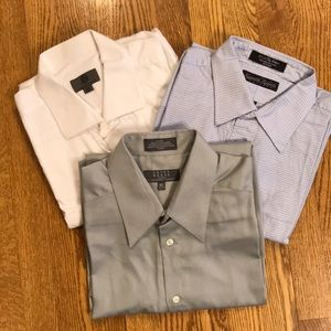 Men's dress shirts 3 pack
